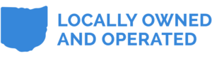 Ohio locally owned and operated logo