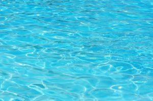 aqua blue pool water